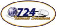 724 Hosting logo