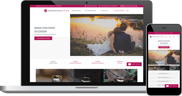 e-Weddingbands.com