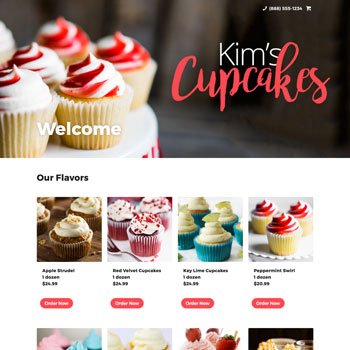 Kim's Kakes Online Store Demo For ShopSite Starter E-commerce