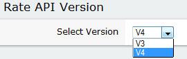 ShopSite settings for USPS Rate API Version